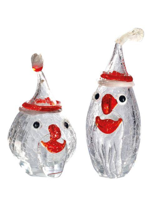 Santa bauchig oder hoch mundgeblasen