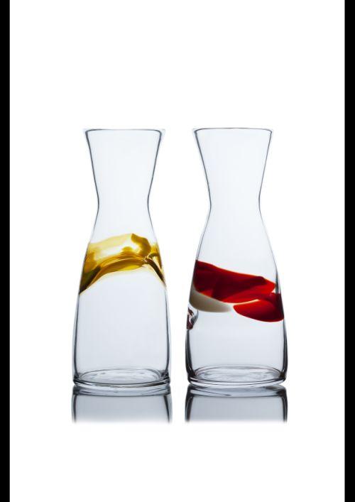 Flasche Farbauflage/kristall