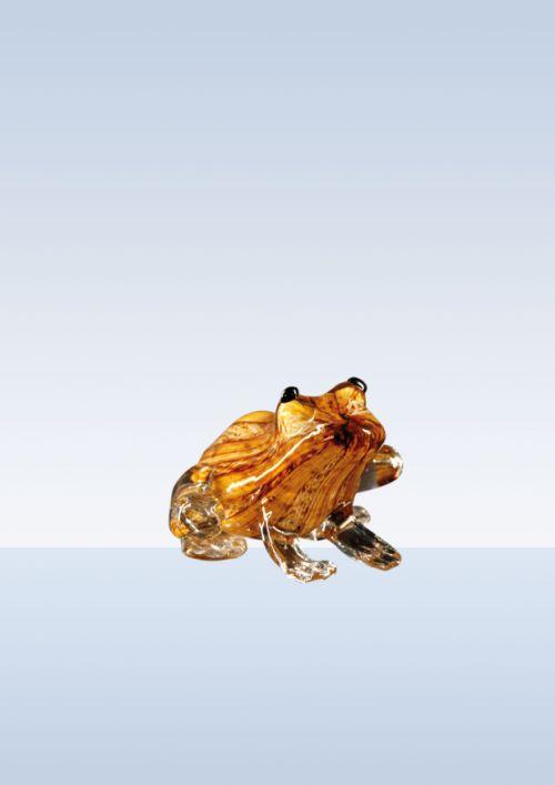Frosch braun gestreift